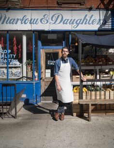 Michael, The Shopkeeper at Marlow & Daughters, Brooklyn