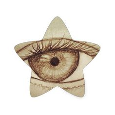 Get your hands on great customizable Eye stickers from Zazzle. Star Stickers, Custom Stickers, Eye Sketch, Different Shapes, Activities For Kids, Vibrant, Diy Projects, Scrapbook, Make It Yourself