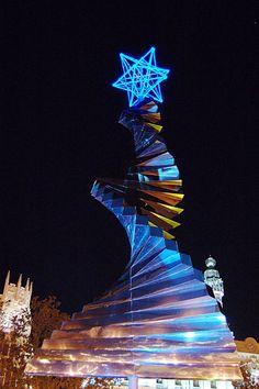 Valencia, capital del edo. Carabobo en Venezuela, tiene fantásticas expresiones de arte para disfrutar en las navidades.