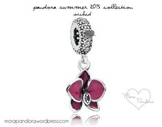 pandora summer 2015 orchid.. I want this for my birthday along with an actual Orchid plant! :)
