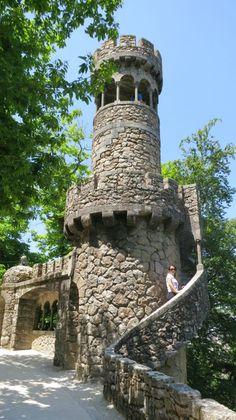 The Regaleira Tower-Quinta da Regaleira-Sintra-Portugal