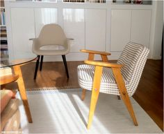 Renovated Polish 60s design classic: 366 Chierowski chair <3