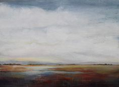 Ease Into Day Painting by Karen Hale