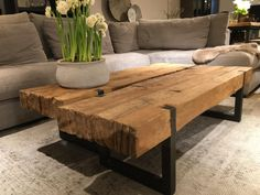 43 wooden tables bring the natural touch inside - wood .- 43 wooden tables bring the natural touch to the inside, - Decor, Furniture, Furniture Design Wooden, Wooden Patio Furniture, Restaurant Furniture, Wooden Tables, 12 Seater Dining Table, Coffee Table, Furniture Design
