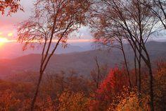 The sunrises are amazing !