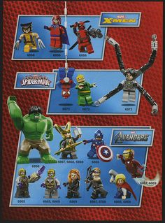Marvel Comics characters, LEGO-style