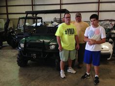 Thank you Chris Taylor from Metairie, LA for getting your 2007 Polaris Ranger at Hattiesburg Cycles. #polaris