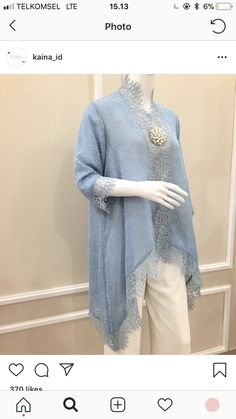 Best 12 Fashionable muslim pakistani outfit for eid mubarak 20 – SkillOfKing. Kebaya Modern Hijab, Kebaya Hijab, Kebaya Muslim, Muslim Dress, Kebaya Lace, Kebaya Dress, Batik Kebaya, Batik Fashion, Hijab Fashion