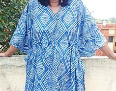 Cotton kaftan robe, Plus size clothing, Maxi dress plus, Plus size maternity dress, Maternity caftan, Batik Clothes, Maternity Gown, Kaftans