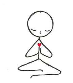 In this Kundalini Yoga video experienced yoga instructor demonstrates several kriyas that are also suitable for beginners. Enjoy the benefits of Kundalini Yoga. Doodle Drawings, Easy Drawings, Doodle Art, Yoga Stick Figures, Stick Figure Drawing, Stick Figure Tattoo, Self Compassion, Wire Art, Painted Rocks