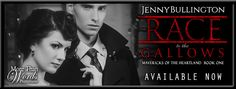 RELEASE BLITZ - Race to the Gallows (Mavericks of the Heartland #1) by Jenny Bullington   Title: Race to the Gallows Series: Mavericks of the Heartland #1 Author: Jenny Bullington Genre: Adult Historical Mafia Romance Published: August 24 2017  Jack and Ruby Walsh thought their sleepy town's Independence Day would be like all the others. That is until an accidental explosion of fireworks destroys downtown Cherokee Iowa. A witch-hunt ensues as WWII tensions rise causing everyone to blame one…