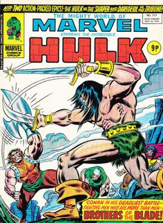 Mighty World of Marvel #217, Conan the Barbarian