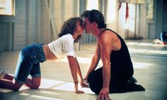 Best Movie Kisses (Videos) patrick swayze and jennifer grey in dirty dancing – Bitten and Bound Patrick Swayze, Iconic Movies, Old Movies, Great Movies, Popular Movies, Vintage Movies, Jennifer Grey Dirty Dancing, Film Mythique, Movie Kisses