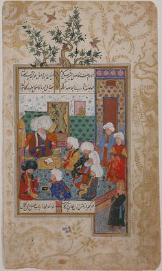 """The Great Abu Sa'ud Teaching Law"", Folio from a Divan of Mahmud `Abd-al Baqi Mahmud 'Abd-al Baqi (1526–1600)"