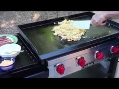 Hearty Breakfast on the Flat Top Grill | Cooking on a Flat Top Grill can be a bit intimidating. Well, don't worry. This will help take the intimidation away.