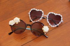 Pimper ses vieilles lunettes de soleil?! C'est possible sur @Le Cahier!