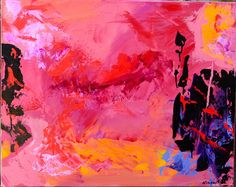 I Saw Red   Suzie Brixius Acrylic on Canvas 30x24