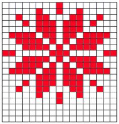 Star Grid for bow pattern Fair Isle Knitting Patterns, Knitting Charts, Knitting Stitches, Free Knitting, Loom Knitting, Knitting Machine, Vintage Knitting, Star Patterns, Cross Stitch Patterns