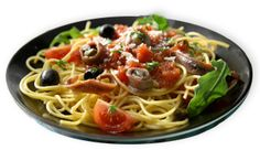 Roland Foods likes this - Pasta Puntanesca with Roland® Anchovies #pasta #RolandFoods