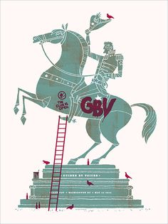 GigPosters.com - Guided By Voices By Spike Press