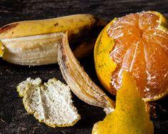 Mai buttare la buccia della banana e la scorza dell'arancia