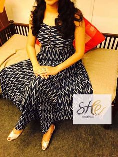 Bollywood Style Designer Anarkali Kurtis from Stf Store Simple Kurti Designs, Salwar Designs, Kurta Designs Women, Kurti Neck Designs, Dress Neck Designs, Kurti Designs Party Wear, Blouse Designs, Kalamkari Dresses, Ikkat Dresses