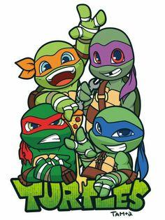 Teenage Mutant Ninja Turtles Babies/Chibi.