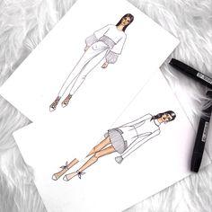 Fashion Design Portfolio, Fashion Design Drawings, Fashion Sketches, Fashion Sketch Template, Diy Clothes Design, Fashion Designer Quotes, Fashion Figures, Fashion Sketchbook, Sketch Inspiration