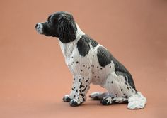 'Domino' English Springer Spaniel - Harriet Knibbs Sculptures