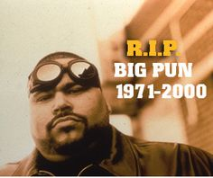 BIG PUN  HIP HOP MUSIC ICON BRONX NYC SON ONE OF THE BEST TO EVER DO IT.. #HIPHOP #BRONX #PUERTORICO