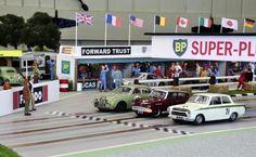 New Track - Page 6 - Tracks & Scenery - SlotForum - Page 6 Ho Slot Cars, Slot Car Racing, Slot Car Tracks, Race Car Sets, Train Info, British Steel, Matchbox Cars, News Track, Small Cars