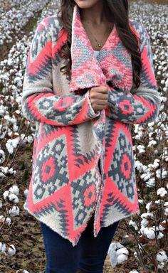 Cozy Pink Sweater – Stella Ivy Boutique