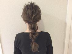 Hair Arrange, Hair Images, Bride Hairstyles, Dyed Hair, Bridal Hair, Hair Makeup, Braids, Hair Color, Hair Beauty