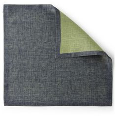 Deborah Rhodes Reversible Napkin (130 ILS) ❤ liked on Polyvore featuring home, kitchen & dining, table linens, navy, deborah rhodes, deborah rhodes table linens, navy napkins, linen napkins and navy blue napkins