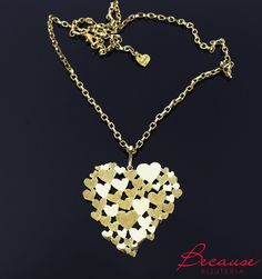 Handmade brass pendant.