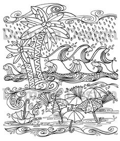 Adult Coloring Pages Are All The Rage Hurricane Page By Domina Design