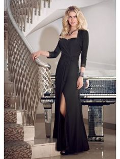 Sheath Strapless Floor Length Stretch Mesh Mother of the Bride Gown