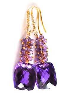Luxury Amethyst Earrings