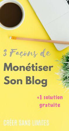 Comment monétiser son blog à moindre coût ?   Monétiser son blog   Vendre avec son blog   Affiliation   Publicité   Création de programme #creersanslimites