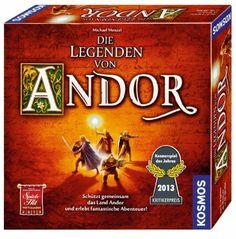KOSMOS 691745 - Die Legenden von Andor, Kennerspiel des Jahres 2013: Amazon.de: Spielzeug