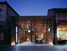 Starbucks Cafe #archello #architecture #cafe #modern #starbucks #building