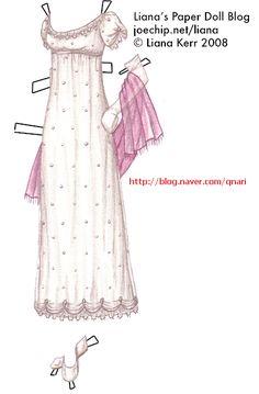 종이인형 (실비아&아이리스 드레스) : 네이버 블로그
