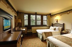 Disney Hotels, Sequoia Lodge - Standard Double Room, Disneyland Paris