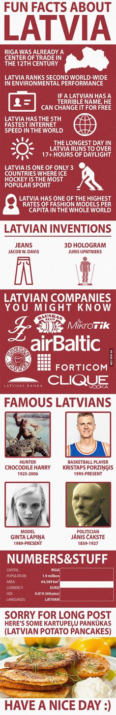 Fun Facts about Latvia