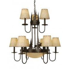 Buy the Vaxcel Lighting Burnished Bronze Direct. Shop for the Vaxcel Lighting Burnished Bronze Yellowstone 12 Light Wide Chandelier with Tree Accents and save. Buy Chandelier, Bronze Chandelier, Antique Chandelier, Chandelier Shades, Chandelier Pendant Lights, Modern Chandelier, Chandeliers, Cabin Style Homes, Lodge Style