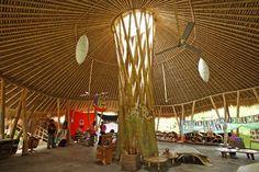 Amazing, beautiful & functional!!!!  Light fills the open-air kindergarten classroom at Green School