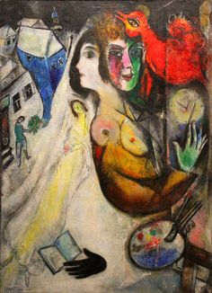 https://flic.kr/p/rEwynx | The Black Glove | The Black Glove Le gant noir Private Collection (Exhibition Marc Chagall, February-June 2015, Brussels, Royal Museum of Fine Arts)