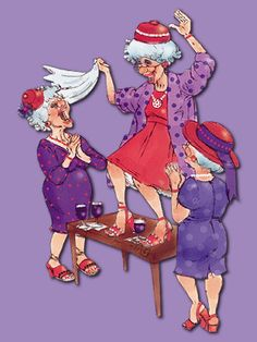 The perfect Fiesta Jaja Jlvkas Animated GIF for your conversation. Discover and Share the best GIFs on Tenor. Red Hat Ladies, Red Hat Society, Red Hats, Just Dance, Red Purple, Old Women, Funny Pictures, The Incredibles, Cartoons