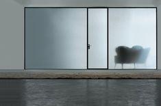 frostet glass interiør døren til leiligheten foto - 11