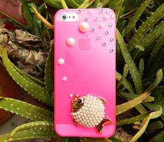 NEW iphone 5 case fish   pearls iphone case iPhone by dnnayding, $17.99